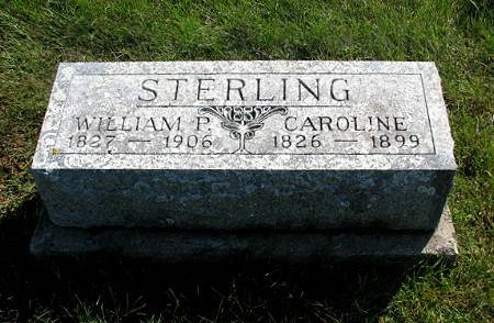 William Penn Sterling Headstone